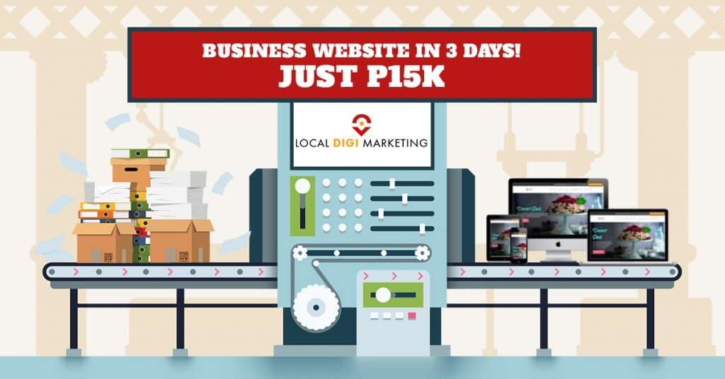 How to Have a Small Business Website in 3 Days for Only P15K!
